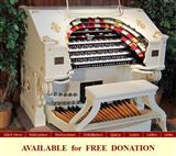 4/38 Wurlitzer Theater Organ Available for Free Donation