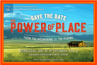 Colorado Preservation, Inc.'s Saving Places Conference