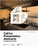 PRP3 Call for Presentation Abstracts Deadline September 15