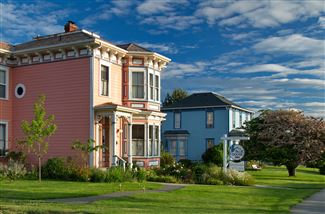 Historic real estate listing for sale in Coupeville, WA