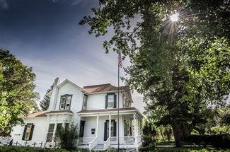Historic real estate listing for sale in Challis, ID