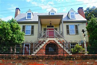 Historic real estate listing for sale in Columbia, VA