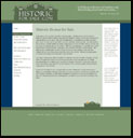 Screen shot of new historic real estate website